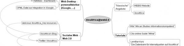 ilissAfrica@web2.0 MindMap