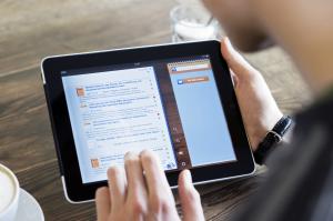 EconBiz-App für das iPad (externer Link: EconBiz-App auf Flickr)