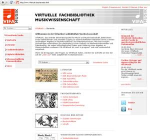 Neue Startseite ViFaMusik