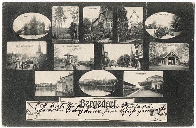 Postkarte Bergedorf