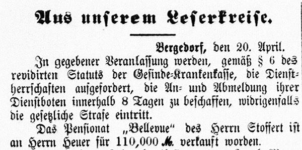 Vierländer Nachrichten, 21.04.1887, No. 46, S. 1