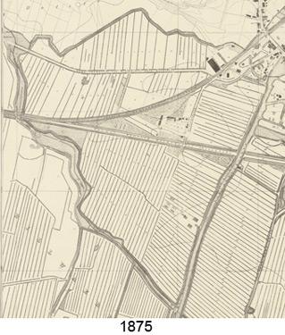 Karte Kamp 1875