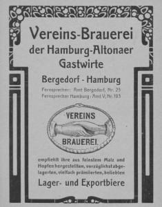 Vereins-Brauerei der Hamburg-Altonaer Gastwirte