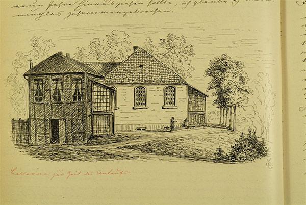 Bellevue zur Zeit des Ankaufs, 'Bergedorf und Umgebung', S. 164