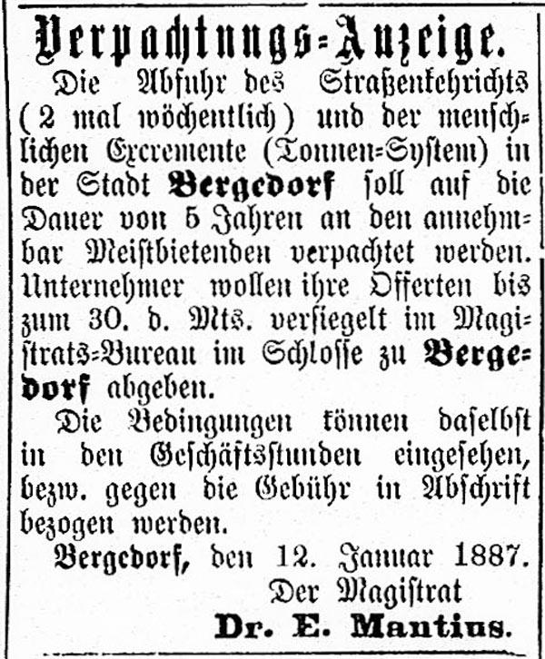 Vierländer Nachrichten vom 15.01.1887, No. 6, S. 4