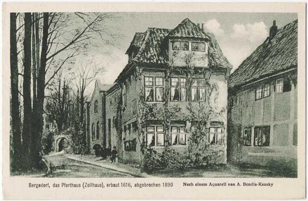 Bergedorf Pforthaus 1890