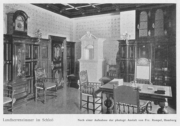 Landherrenzimmer im Schloß