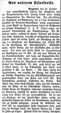 Vierländer Nachrichten 1887, 01.11.87, No. 128, S. 1, Sp. 1