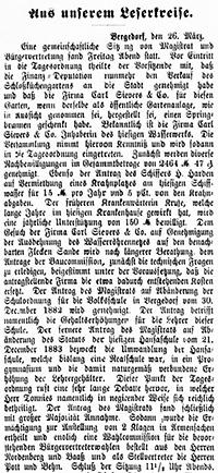 Vierländer Nachrichten 1888, 27.03.88, No. 37