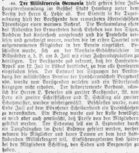Bergedorfer Zeitung, 3. Juli 1914