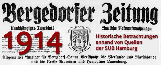 Bergedorfer Zeitung 1914