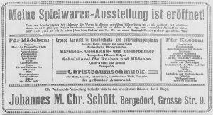 Bergedorfer Zeitung, 6. Dezember 1916