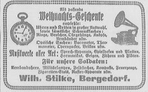 Bergedorfer Zeitung, 9. Dezember 1916