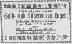 Bergedorfer Zeitung, 13. Dezember 1916