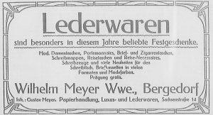Bergedorfer Zeitung, 15. Dezember 1916