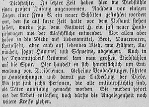 Bergedorfer Zeitung, 7. Februar 1917