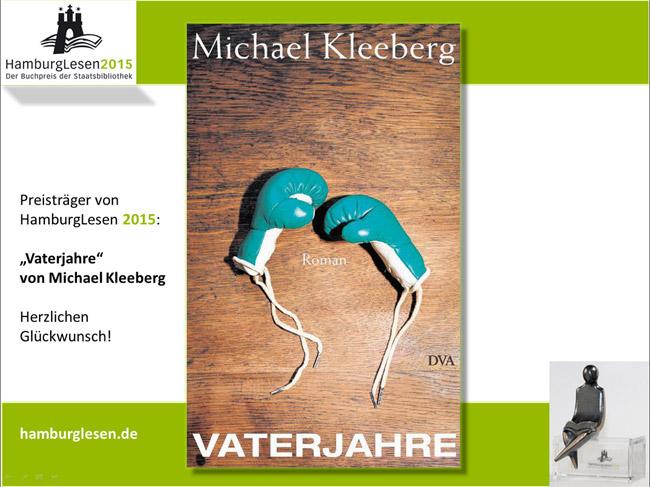 «Vaterjahre» von Michael Kleeberg
