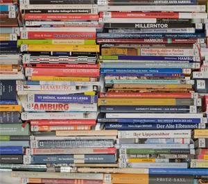 Bücher-Stapel 2013